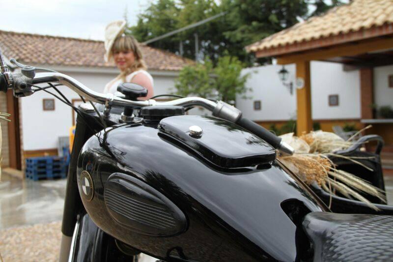 Detalles de la moto