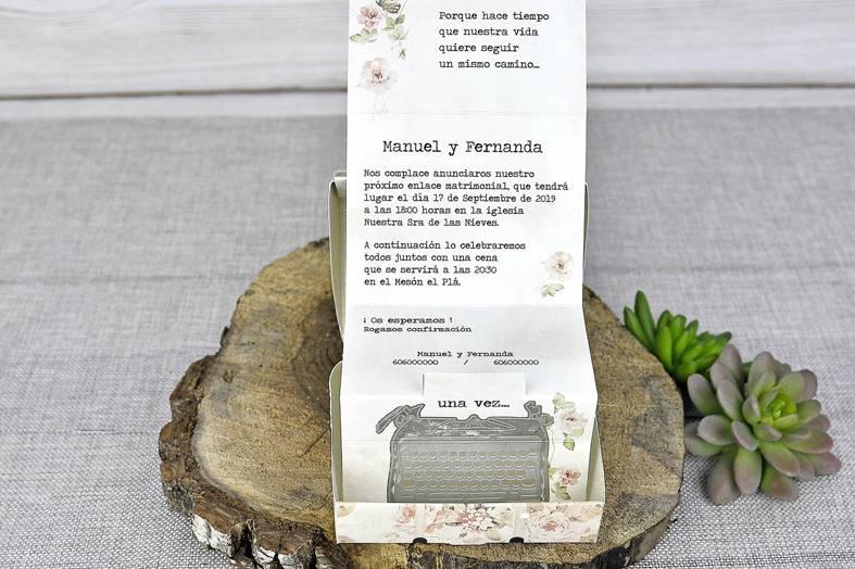Invitacion boda 39300