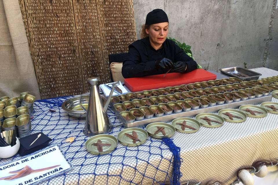 Sobadora de anchoas