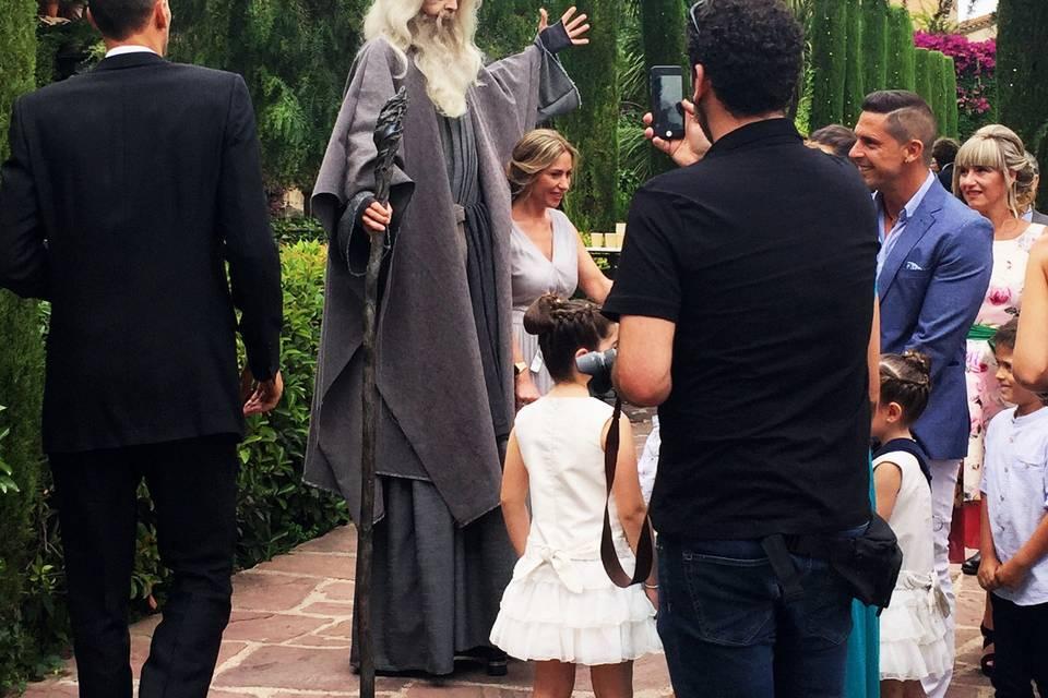 Aperitivo con Gandalf