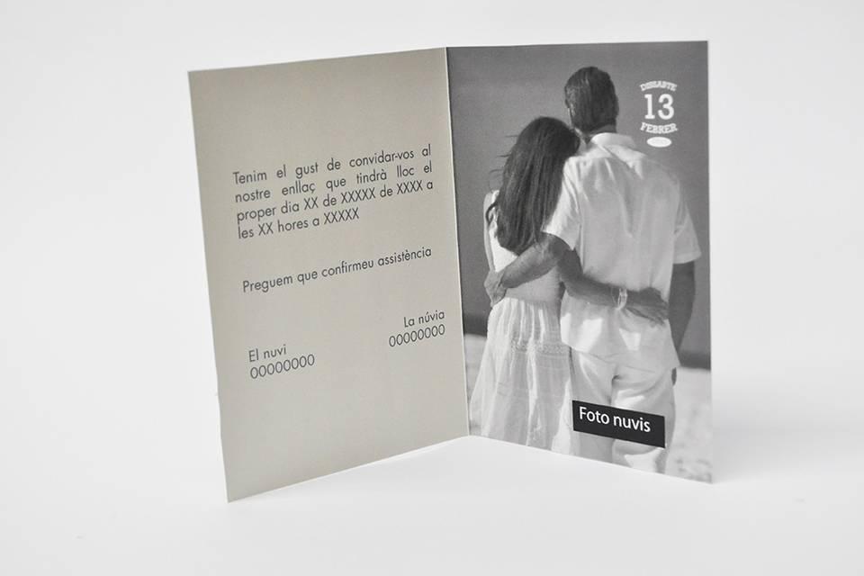 Invitación díptico (Ref. 18)