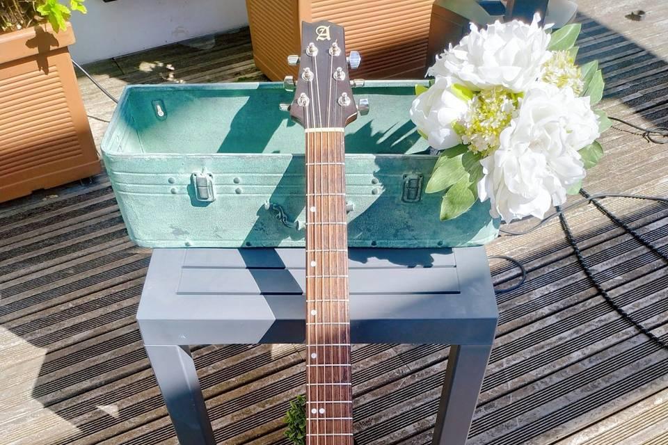 Dúo acústico, guitarra