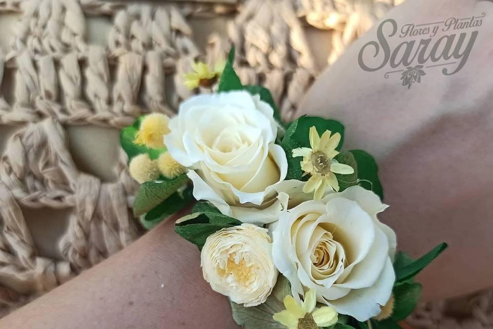 Pulsera Flores Preservadas Ama