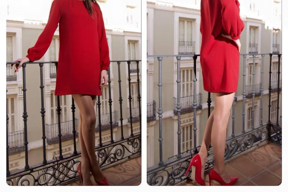 Vestido y tocado