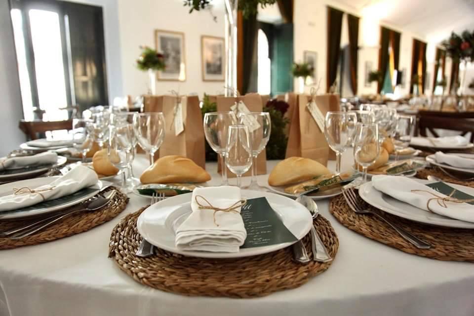 Regalitos en mesa