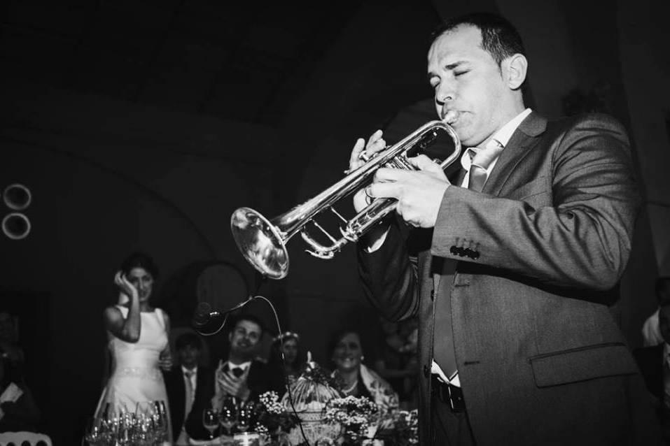 Albinoni - Dúo de trompeta y órgano