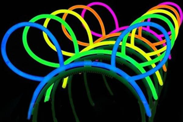 Diademas fluorescentes