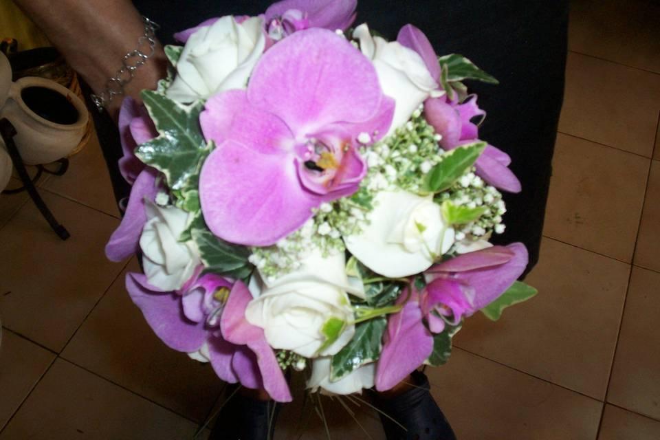 Bouquet de orquídeas