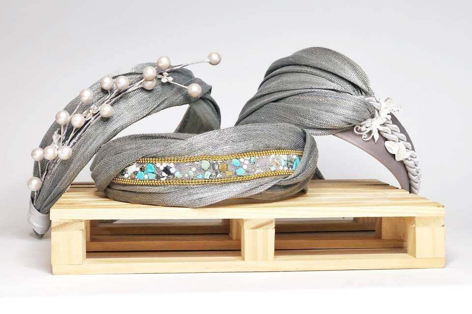 Diademas con joyas