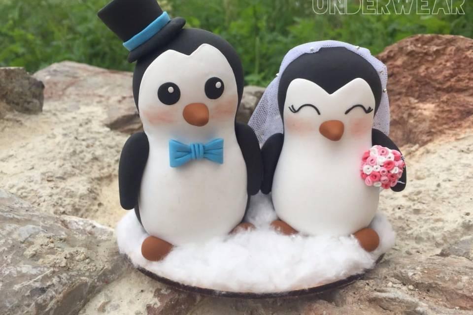 Pingüinos 15 cm