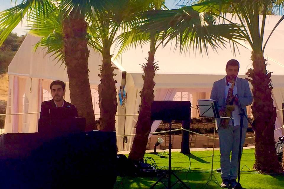 Jazz durante un evento