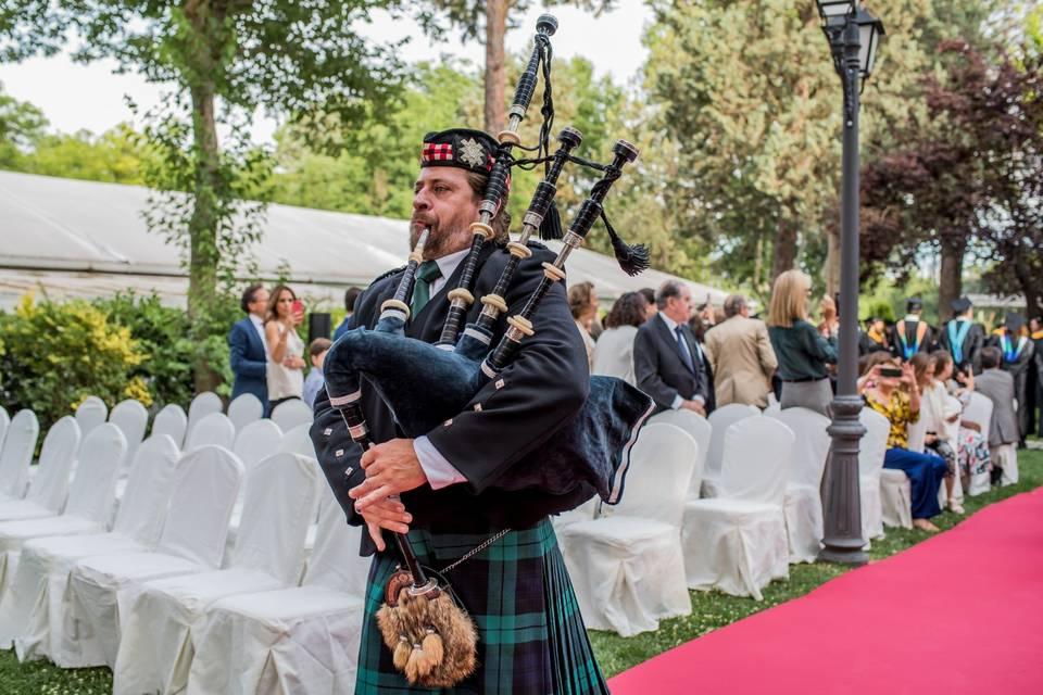 Piper Iñaki - Gaitero escocés