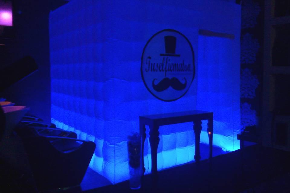 Cabina azul