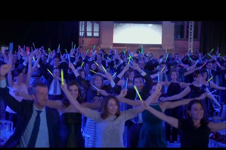 Flashmob con 300 personas