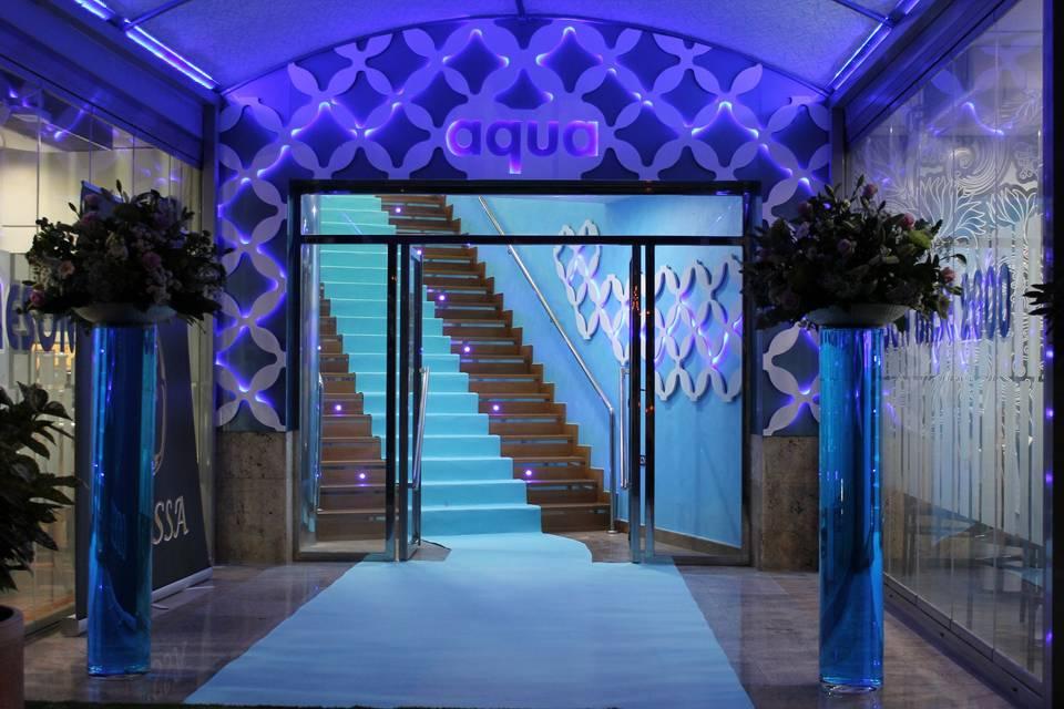 Entrada salón Aqua
