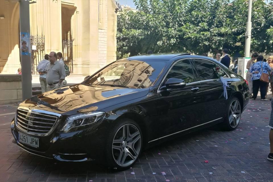 Mercedes S largo