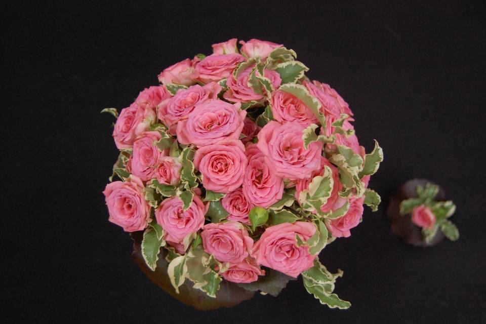Bouquet de novia y detalle
