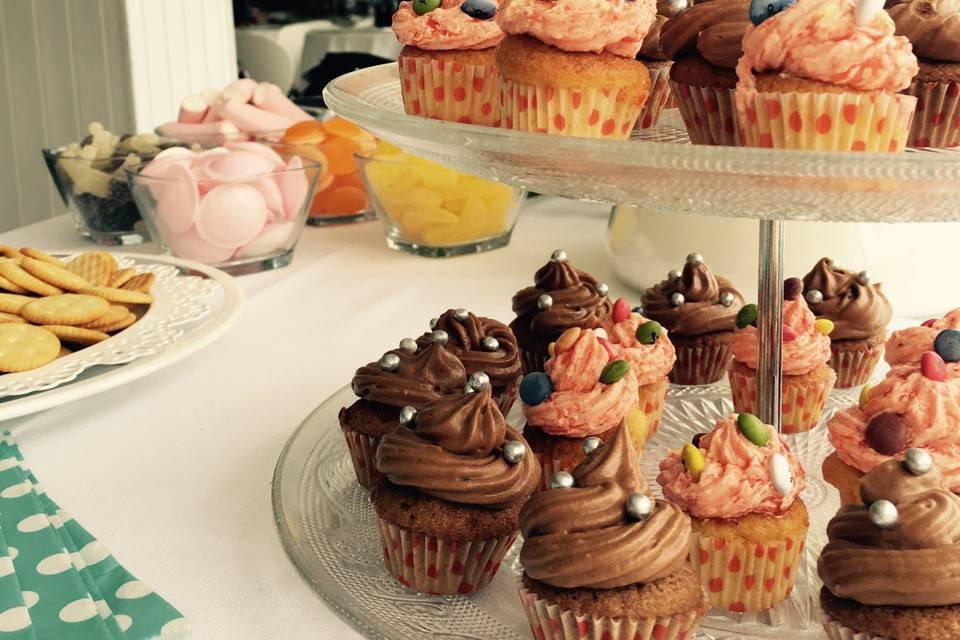 Candy bar - Cupcakes