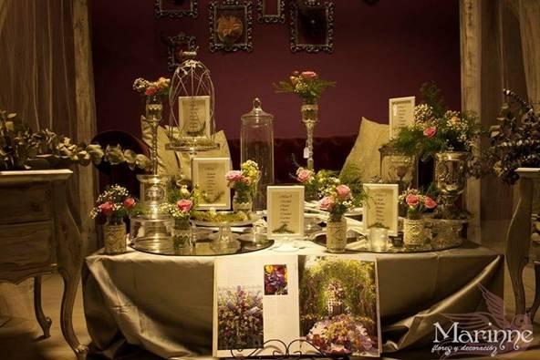 Marinne flores y decoración