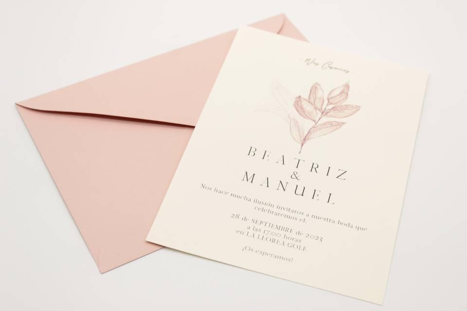 Invitación Soft