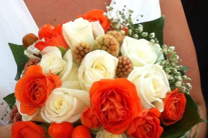 Ramo de novia estilo bouquet