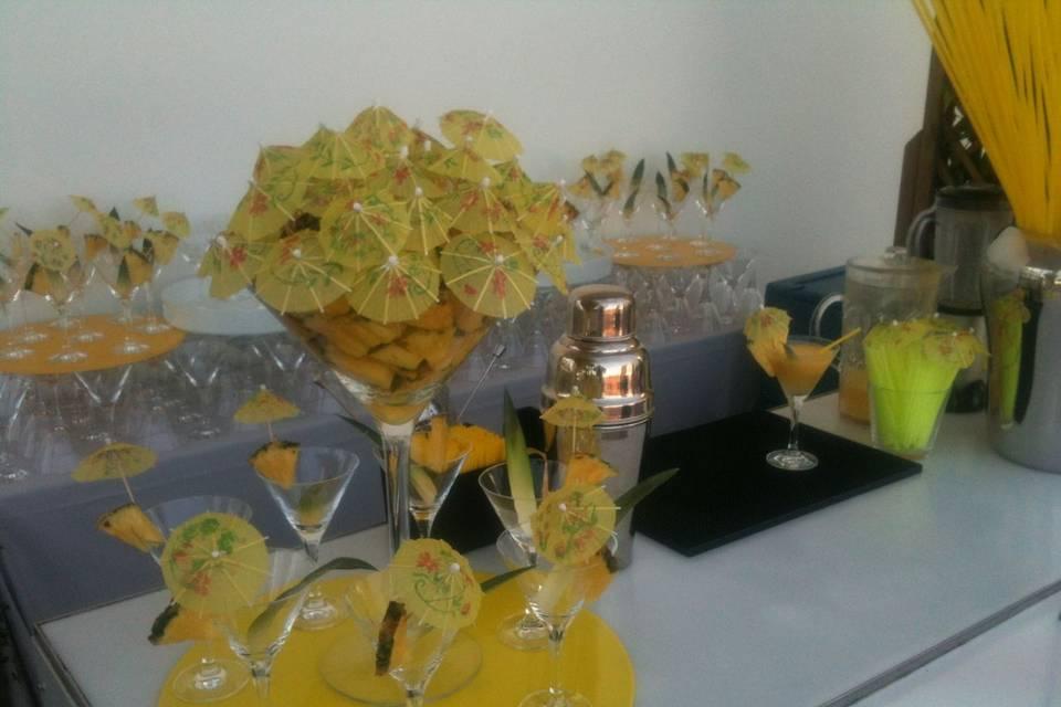 Sweet Cocktails - Barra de coctelería para bodas