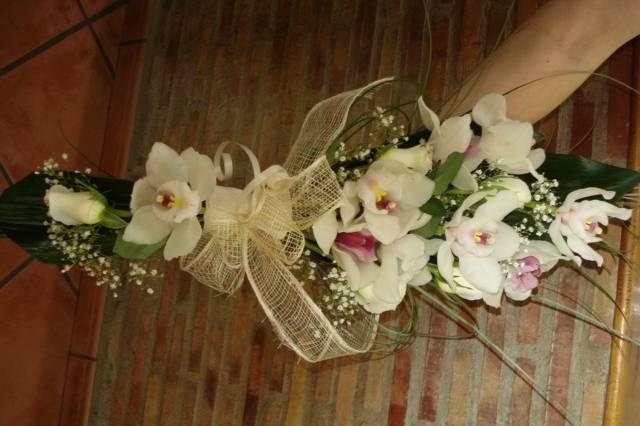 Ramo para la novia bastón