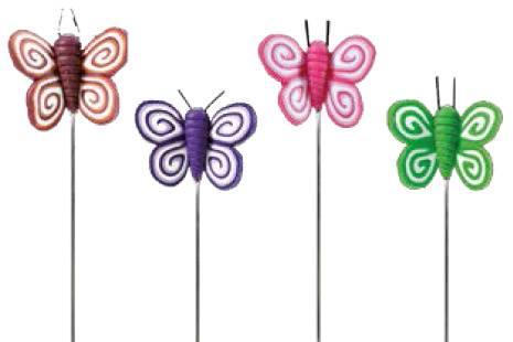 Alfileres de mariposas