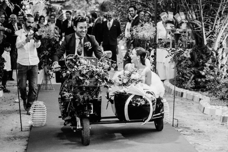 Vespa & Wedding
