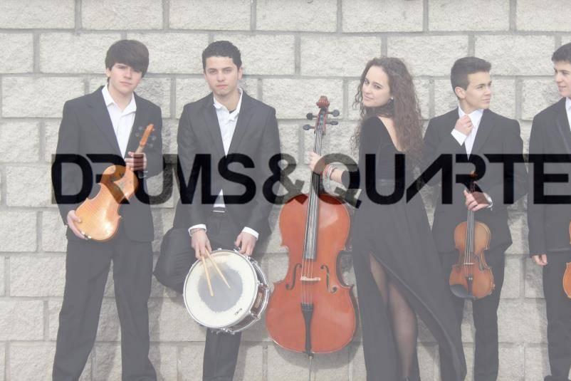 Drums&Quartet