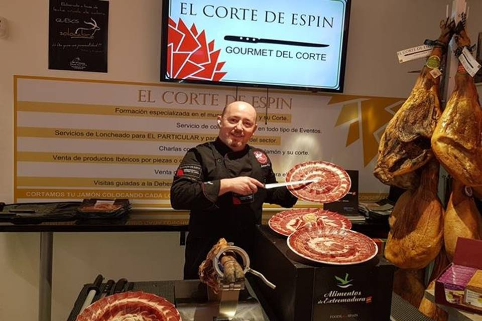 Jorge Espín - Cortador de jamón