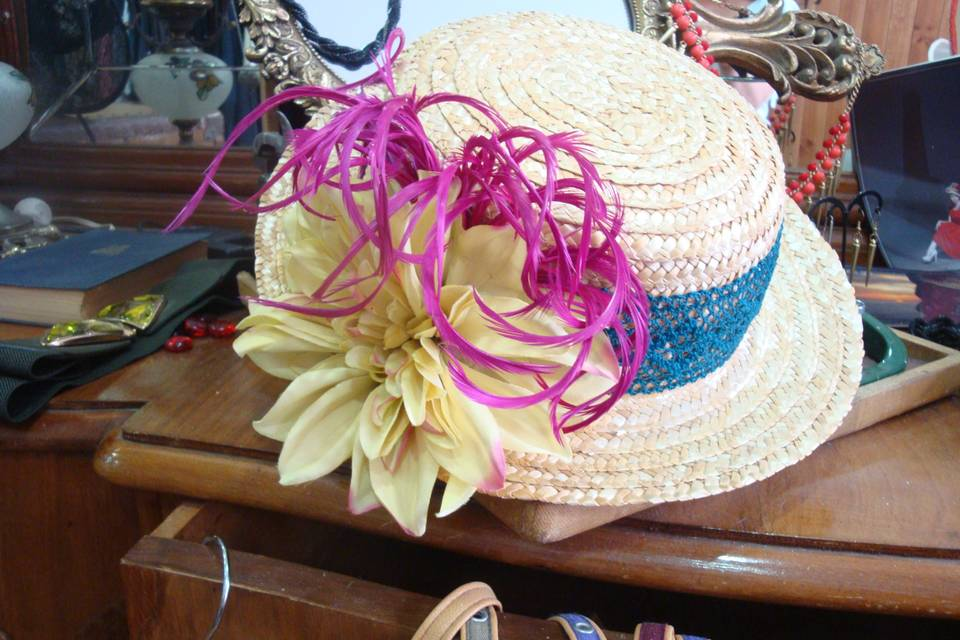 Sombreros y pamelas