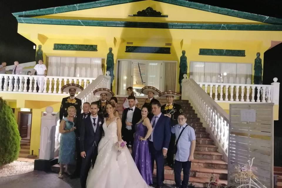 Servicio de mariachi en bodas