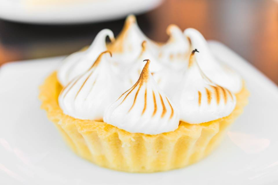 Tartaleta de limón y merengue
