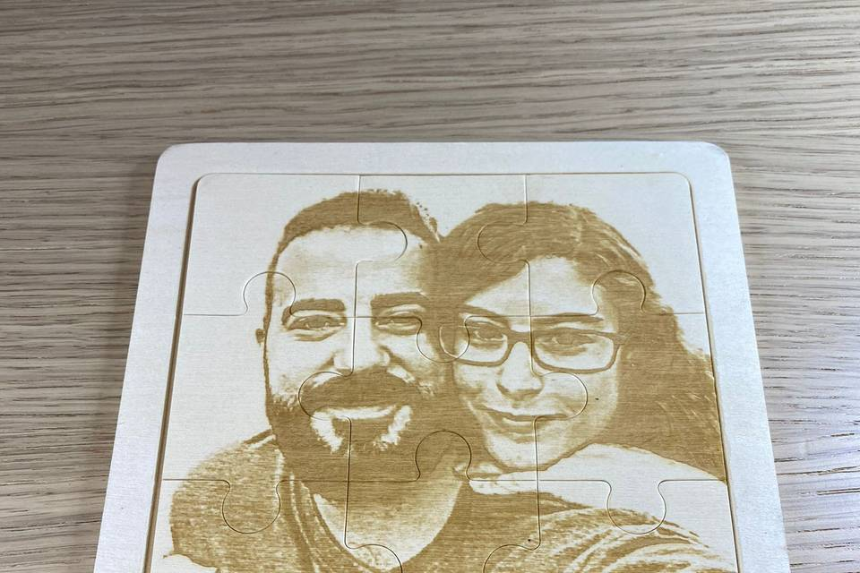 Foto en puzzle