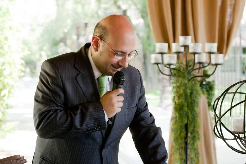 Juan Hidalgo - Maestro de Ceremonias