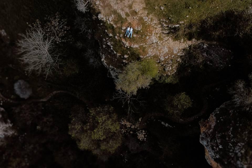 Preboda con dron