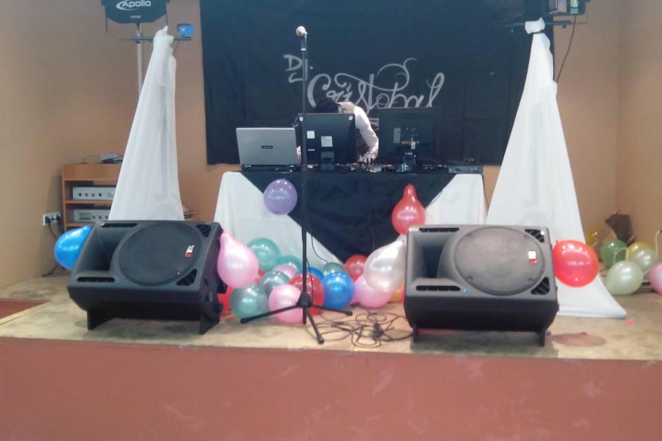 DJ y orquestas