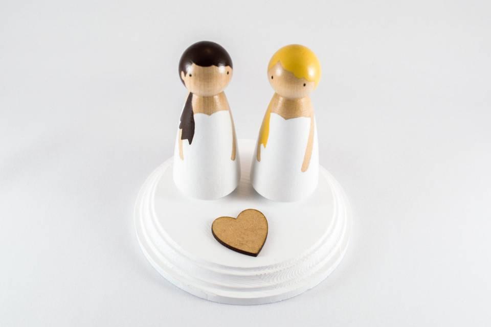 Cosicas de la Topica - Figuras para la tarta