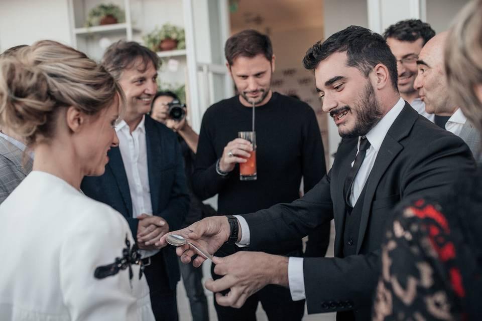 Magia en bodas