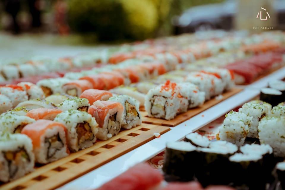 Comida japonesa para vuestro evento