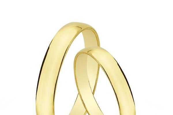 Alianzas oro amarillo 18k