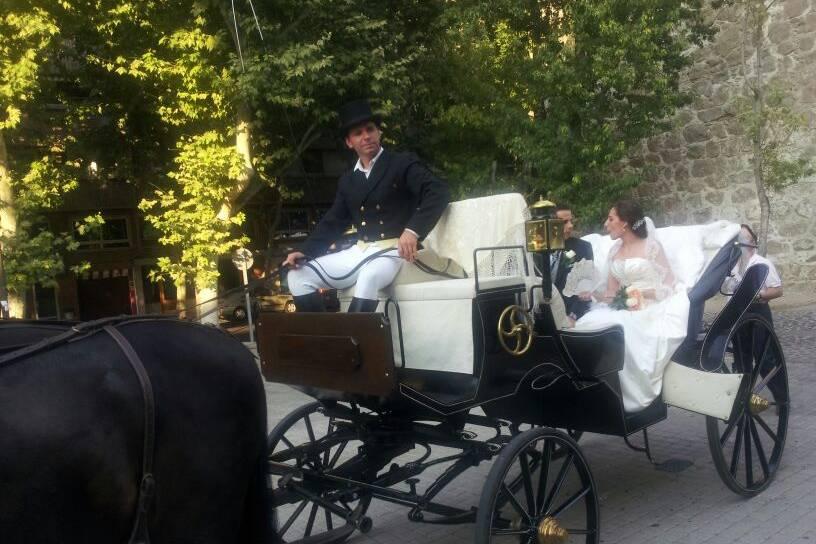 Carruajes y bodas