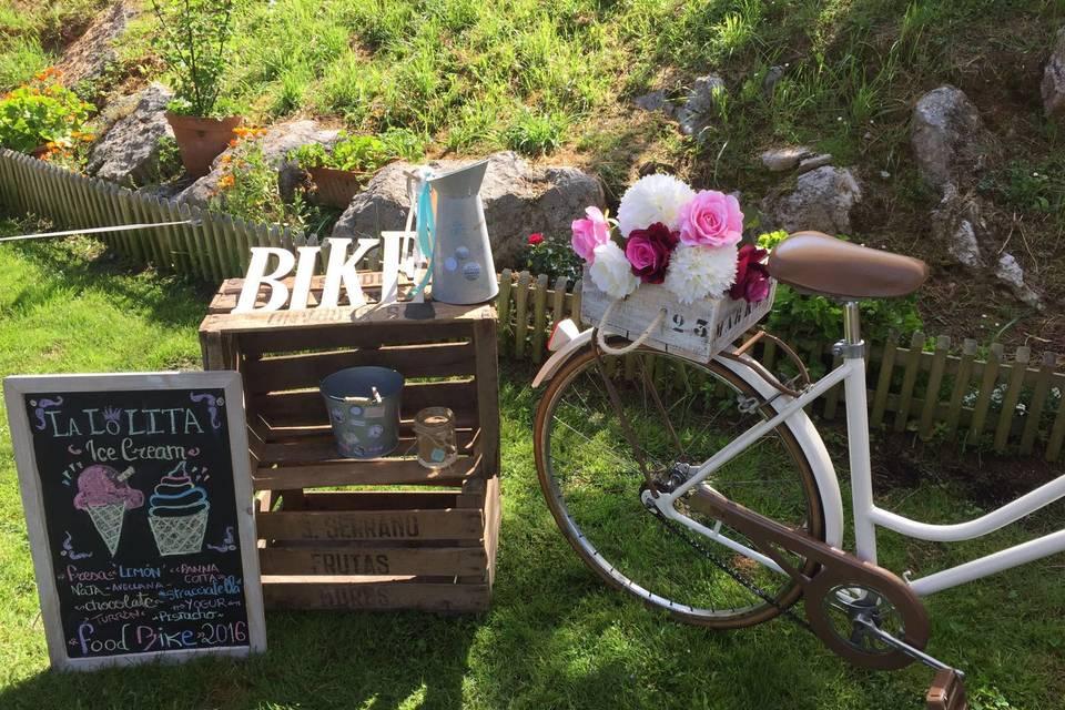 Triciclo de estilo vintage