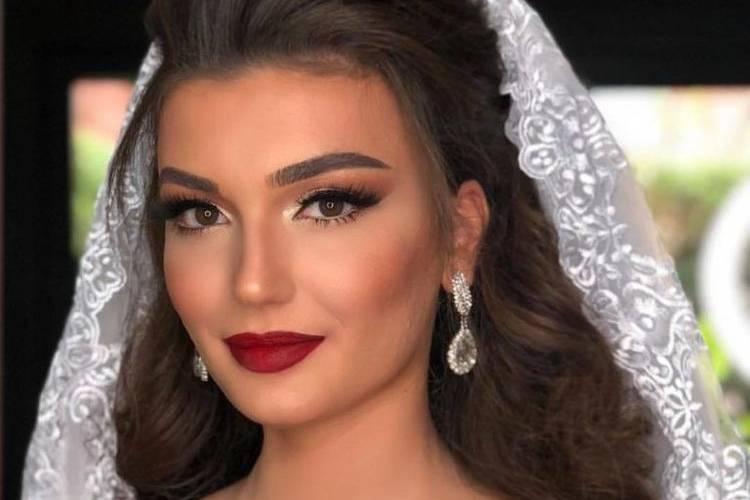 Maquillaje de novia sofisticada