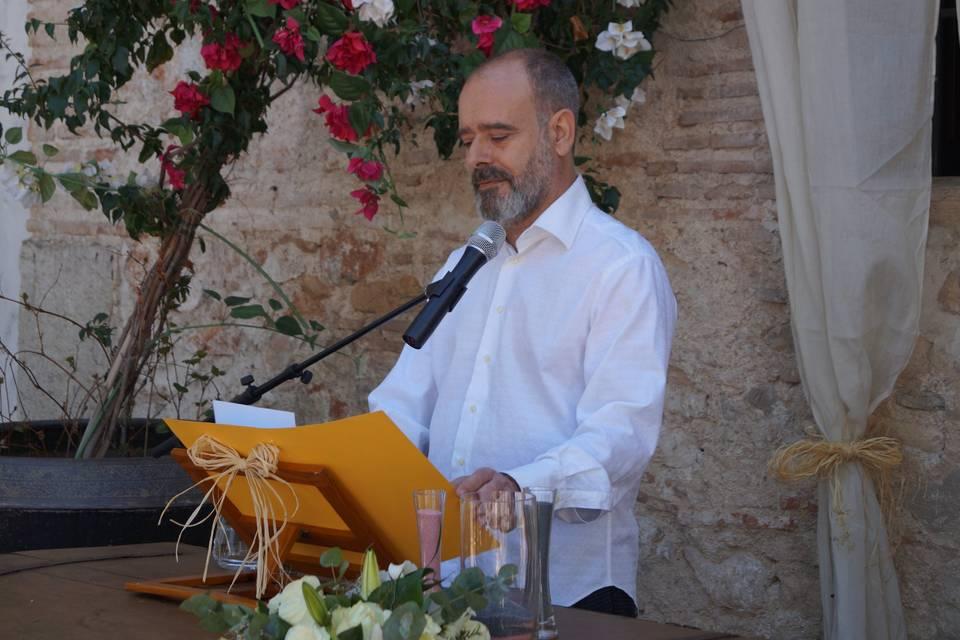 Manuel Camarasa - Maestro de ceremonias