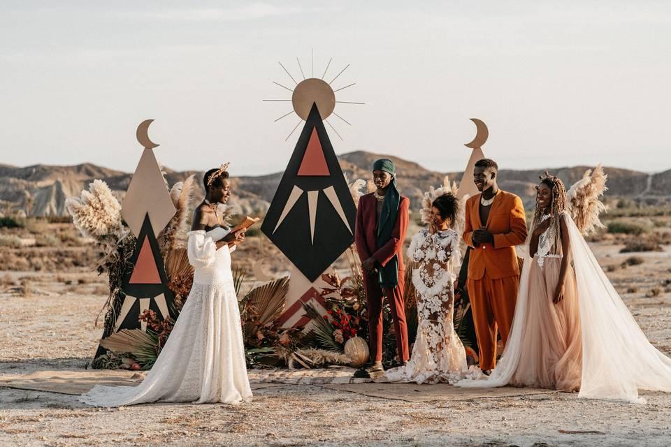 Ceremonias diferentes