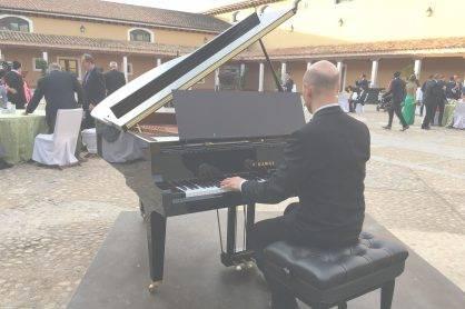 Alquiler de piano para boda