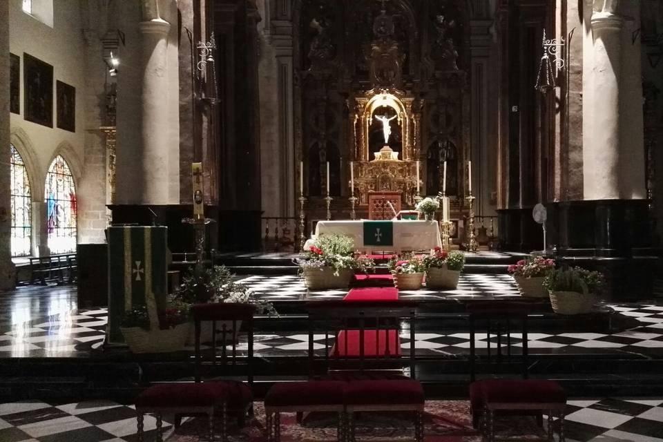 Ceremonia en la iglesia