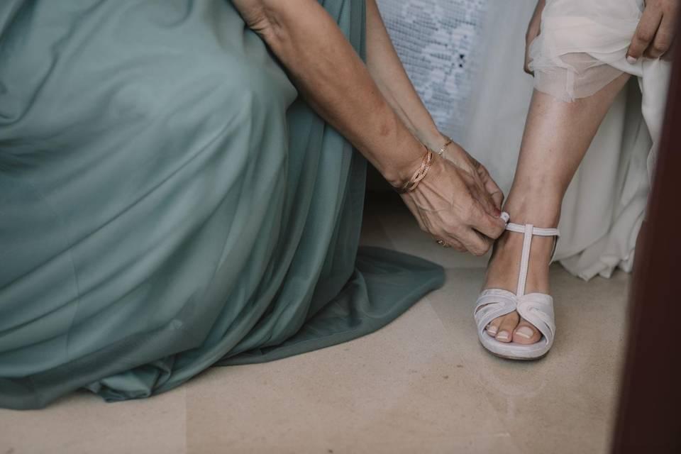 Forrado de sandalia